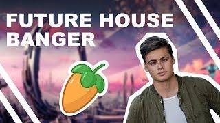 How to make a FUTURE HOUSE BANGER ! (FL Studio)