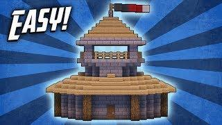 Minecraft: How To Build A Survival Starter House Tutorial (#10)