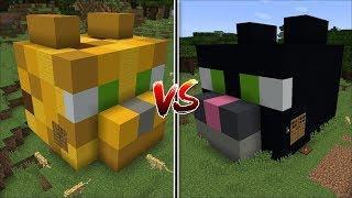 Minecraft OCELOT HOUSE VS CAT HOUSE MOD / FIND THE BEST PET HOUSE !! Minecraft