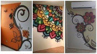 Beautiful Wall Stickers & Wall Paintings Ideas For Wall Decal
