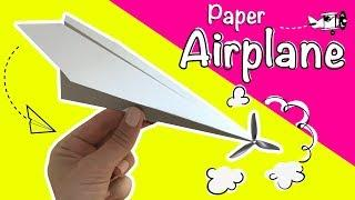DIY Paper Crafts | How to Make Paper Airplanes [4K]
