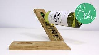 In Labs with Beki | How to make a Magic Wine Bottle Holder | Vectric