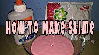 VLOG #7 How To Make Slime | My DIY Slime | My Pinkish Slime