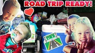 LARGE HOMESCHOOL FAMILY ROAD TRIP | How to Pack a Big Family | Traveling with Kids!