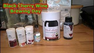 Wilko Black Cherry Wine Making Kit #75 Homebrew Beer