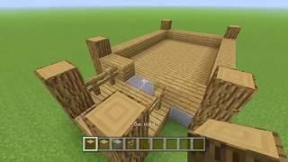 Minecraft: Building a simple house