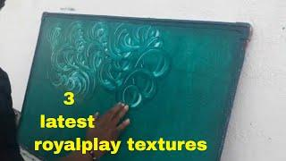 Asian paints Royal play  Texture| interior wall design|Latest
