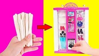 20 DIYs FOR DOLL HOUSE | How To Make Barbie Dollhouse and More DIY Hacks