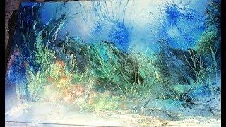 spray paint and airbrush underwater jam