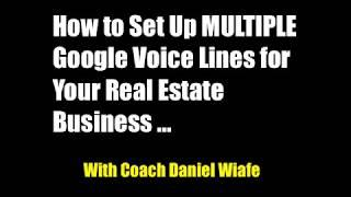 HOW TO FLIP HOUSES | Google Voice & Setting Up Multiple Accounts