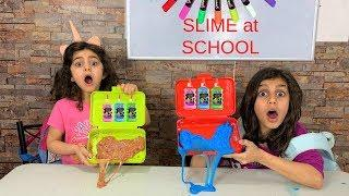 How To Make SLIME IN SCHOOL WITHOUT GETTING CAUGHT!!