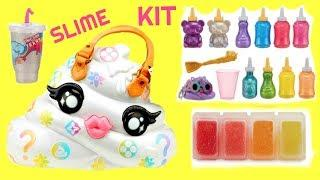 Fizzy Makes Poopsie Pooey Puttion DIY Slime Kit Make Glitter Slimes