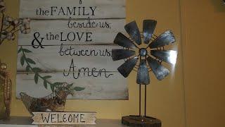 Dollar tree DIY Windmill