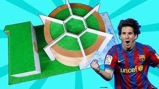 How To Make Lionel Messi's Villa House In Barcelona From Cardboard