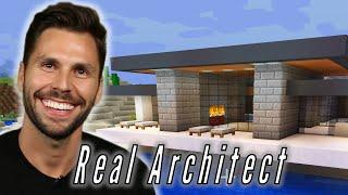 "A Real Architect Builds A Mansion In ""Minecraft"""
