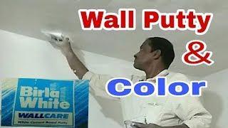 Birla Wall Putty & Color Work Virar In Mumbai