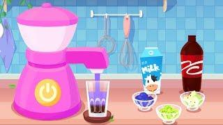 Candy's Dessert House Kids Games - Learn how to make Chocolate Donut, Slushy & Cupcake