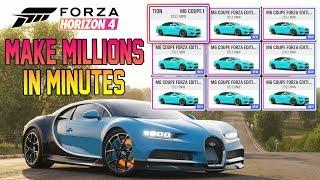 Forza Horizon 4 - Make MILLIONS Using Auction House! 10M Per Hour BEST Method Ever