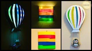 2 DIY Colorful & Trendy Wall Decor Ideas|gadac diy|kids room decor|wall decoration ideas|craft ideas
