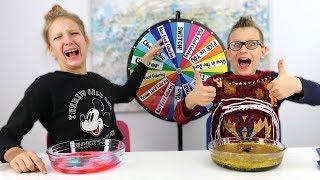 Mystery Wheel of Dump It Slime Challenge!