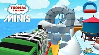 Thomas & Friends Minis #251 | Ride over Frozen Bridges! By Budge Studios