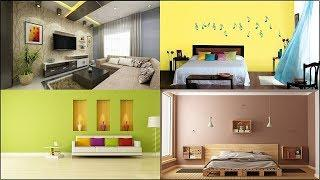 Best Interior Color Combinations | wall colour combination for small bedroom and living room