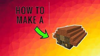 How to make a mini house in minecraft 100% working
