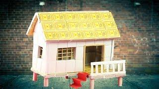 Easy Matchbox House Making - Matchbox House Crafts - Matchbox Crafts Idea (2019)
