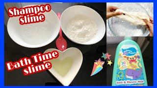 How To Make Easy Slime Putty at Home | DIY Slime Without Glue | Making Slime With Flour and Shampoo