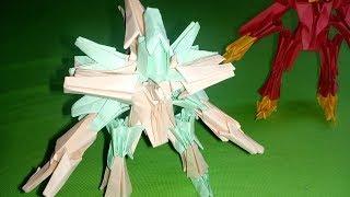 Origami Robot  - Transformer  / How to make a Paper Transformers
