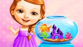 Sweet Baby Girl Cleanup 5 Fun Kids Games - Play Messy House Makeover Fun Cleaning Games For Girls