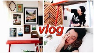 Painting Furniture, DIY Gallery Wall, New Skincare, Reality of Chronic Pain...VLOG