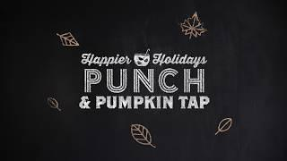 How to Make Happier Holidays Punch with a Pumpkin Tap