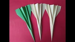 stylish paper airplane that fly far | how to make a stylish Paper plane design for Kids