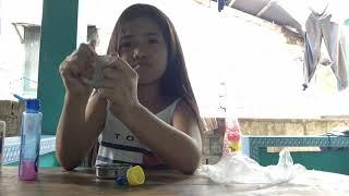 How to make slime tagalog version /its airish rhiyana vlogs