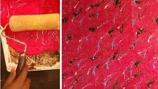 wall putty texture designs  | wall painting texture new design idea | interior design