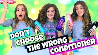 Don't Choose The Wrong Conditioner Slime Challenge!!!