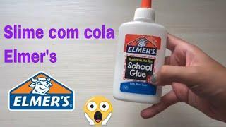 Fazendo Slime com Cola ELMER´S | Julia Chaves ❤️