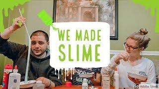 LITTLE SISTER TEACHES US HOW TO MAKE SLIME