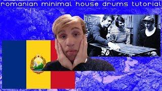 How To Make Romanian Minimal House Drums [Free Samples]