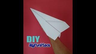 Very Easy Paper Airplane Long Distance - DIY Tutorial