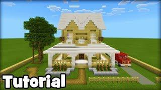 Minecraft Tutorial: How To Make A Suburban House #16