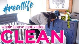 ???? All Day Clean With Me Fall 2018 - Whole House Ultimate Cleaning Motivation