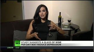 It's official: Wine can make you less depressed