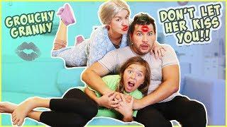 GROUCHY GRANNY GAME IRL!!! SHE PUT A BALL PIT IN OUR HOUSE!