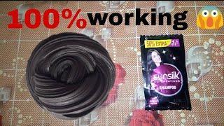 How to make slime with Sunsilk shampoo!