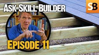 Level Decking, Cracked Lead & Damp Walls - ASB #11
