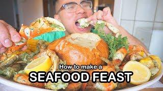 How to cook a SEAFOOD FEAST