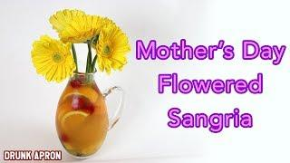 How-To-Make Mother's Day Flowered Sangria