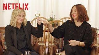 Wine Country Cast Samples Wines of the World (feat. Amy Poehler) | Netflix